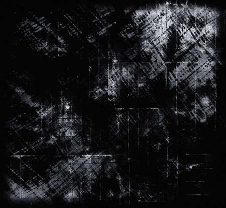 black grunge background: Black Grunge background