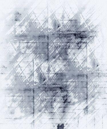 full frames: old black and white background Stock Photo
