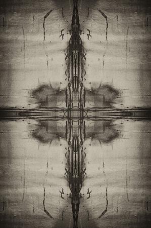 multi layered effect: sepia tone grunge background Stock Photo