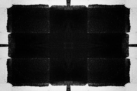 Zwarte muur abstracte grunge textuur Stockfoto - 52429993