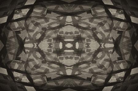 retro styled imagery: sepia tone grunge texture