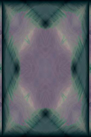 cul de sac: symmetrical color background Stock Photo