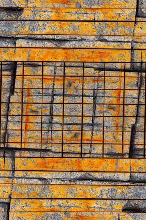 the  of the surface: grunge weathered surface