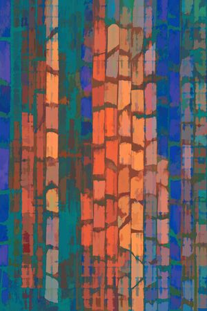 stone mason: abstract painted grunge design composition