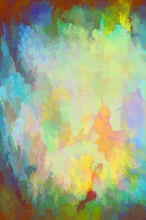 apparel part: abstract painted grunge design composition