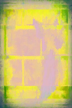 multi level: abstract painted grunge design composition