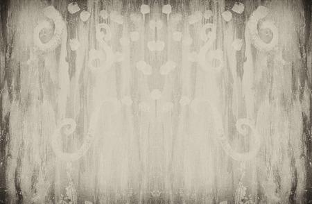 sepia: sepia tone grunge wall