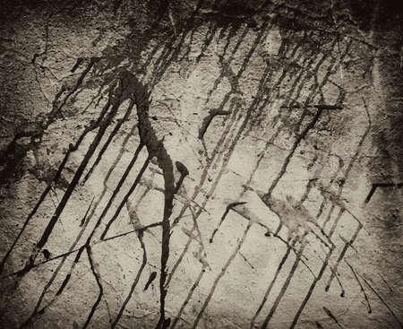 black wall: black wall abstract grunge texture Stock Photo