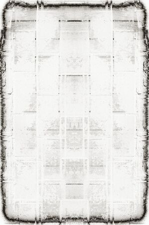 peeling rubber: Black and white monochrome old grunge vintage weathered background abstract antique texture with retro pattern Stock Photo