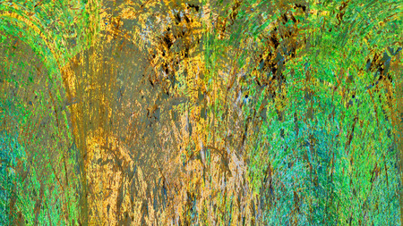 Old color grunge vintage weathered background abstract antique texture with retro pattern. 16:9 aspect ratio Stock Photo