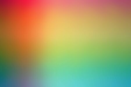 Blur Abstract Background. Colorful Gradient Defocused Backdrop. Simple Trendy Design Element For You Project, Banner, Wallpaper. Beautiful De-focused Soft Blurred Image Stock fotó - 96768912