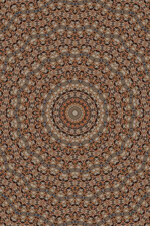 Abstract Colorful Painted Kaleidoscopic Graphic Background. 写真素材