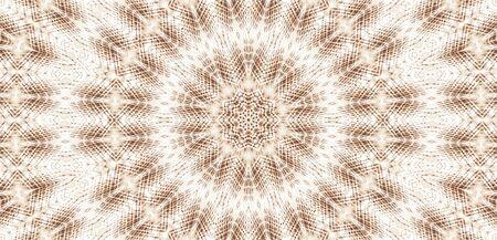 抽象的なカラフルな塗られた万華鏡のグラフィック背景。テクスチャを持つ未来的なサイケデリック催眠背景パターン。フォークエスニック花飾りマンダラ。ヴィンテージ装飾幾何学的モザイク 写真素材 - 96818152