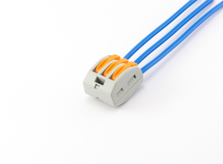 Terminal connector wires