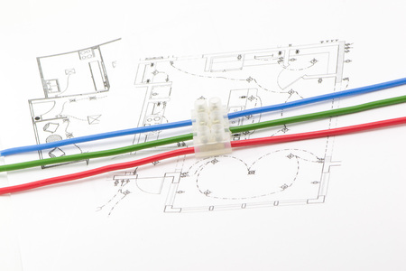 reliably: The connector wires on a transparent background