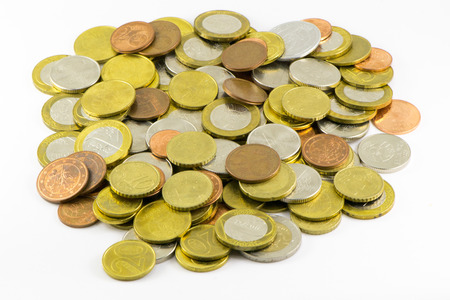 New Belarusian coins Stock Photo