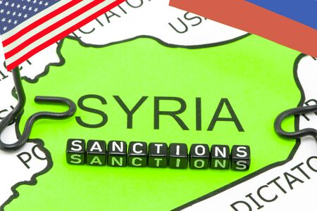 US sanctions on Russia due in Syria