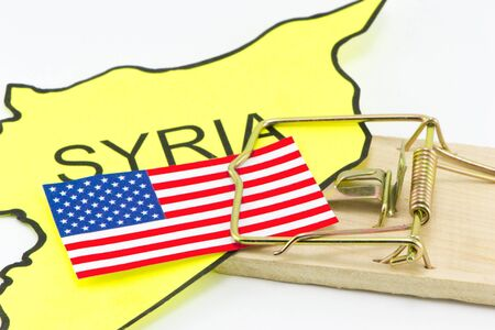 US pinned trap in Syria