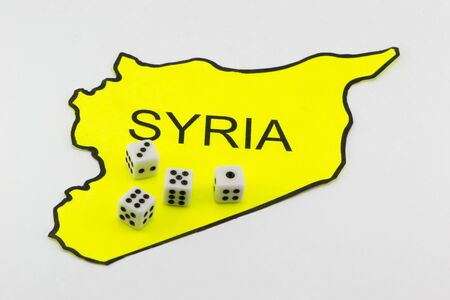 Syria: The military confrontation in Syria Stock Photo