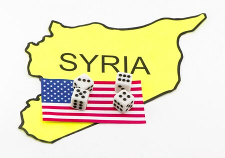 The United States is playing in Syria