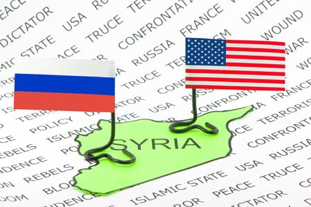 Feud US and Russia in Syria