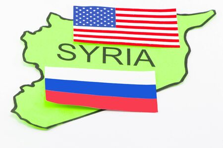 US and Russian war in Syria