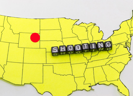 massacre: Shooting in Wyoming