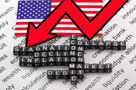 US economic debt Stock fotó