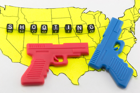 The right to bear arms in the United States Stock Photo