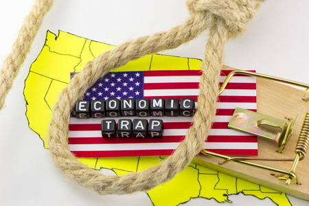 The US financial system is in the trap