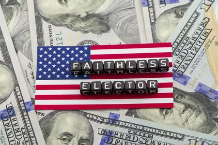 electors: Wrong electors voting at the US Stock Photo
