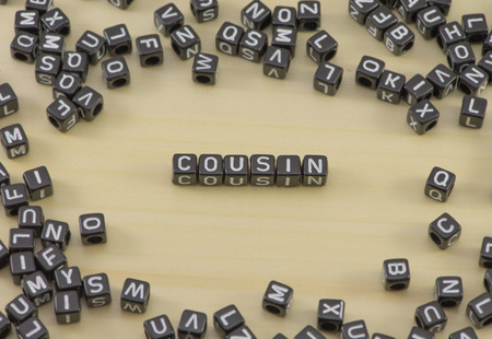 The concept of the word Cousin