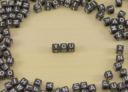 he no background: The concept of the words you