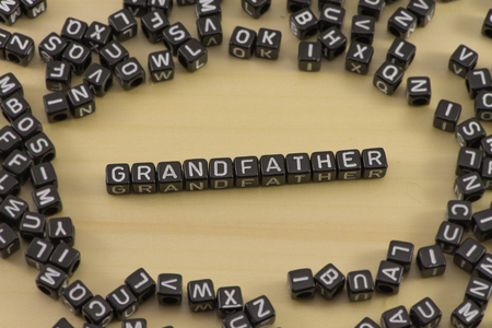 The concept of the words grandfather