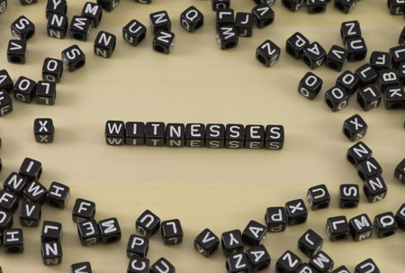 The concept of the word witness