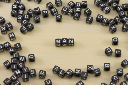 The concept of the word man