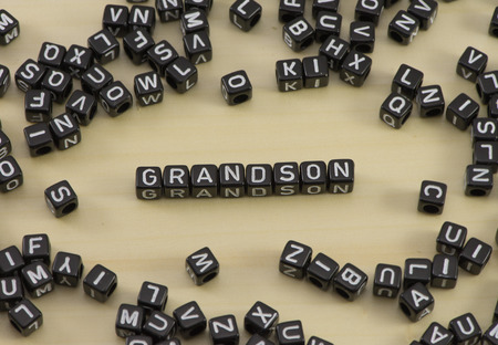 The concept of the words grandson