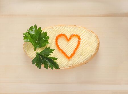 Love and food as a symbol of relationship