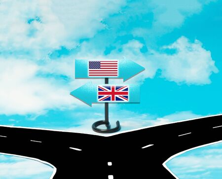 Disagreements between the US and the UK in the concept