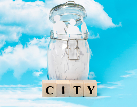 Word of the city and its environment in the concept of social advertising