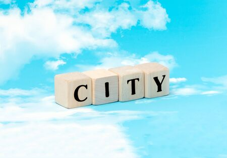 The word city in the concept