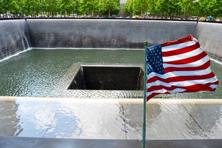 9 月 11 日の犠牲者の記念碑 写真素材