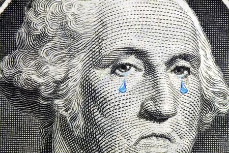 Washington Cries Close Up