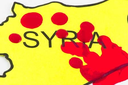 Blood on Syria because of the war