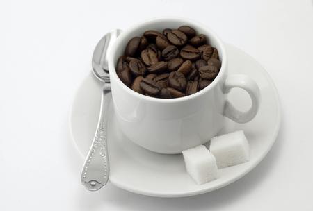 Coffee in a mug 写真素材