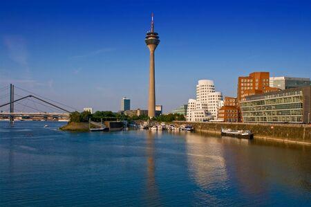architectural tradition: Dusseldorf Skyline
