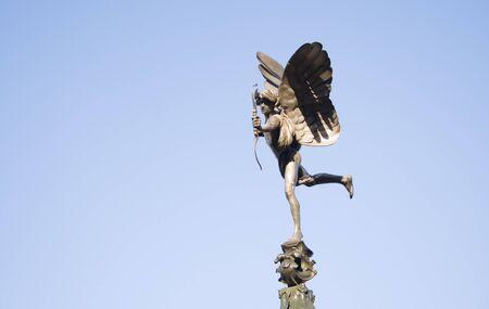 eros: Eros  Anteros - Statua in Piccadilly Circus a Londra