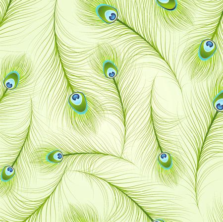 Feather Patterns vector illustration