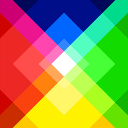 photographic effects: Geometric Rainbow color background design