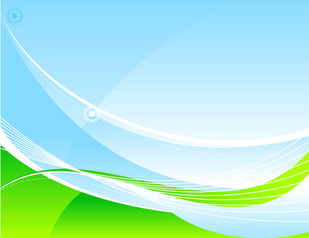 Abstract tranquil background design